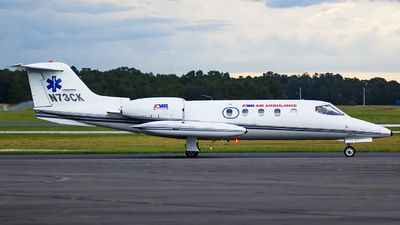 N73CK - Gates Learjet 35A - American Medical Response (AMR)