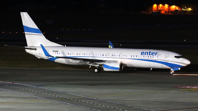 SP-ENO - Boeing 737-8AS - Enter Air