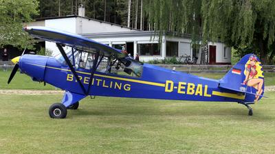 A picture of DEBAL - Piper PA18 Super Cub - [185364] - © Eddie Heisterkamp