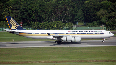 9V-SGC - Airbus A340-541 - Singapore Airlines