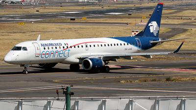 XA-JAC - Embraer 190-100IGW - Aeroméxico Connect