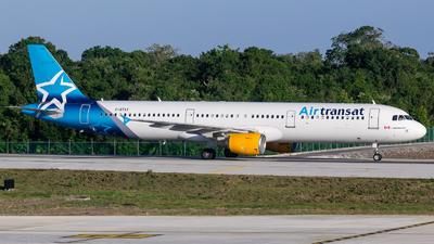 C-GTXY - Airbus A321-211 - Air Transat
