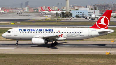TC-JPI - Airbus A320-232 - Turkish Airlines