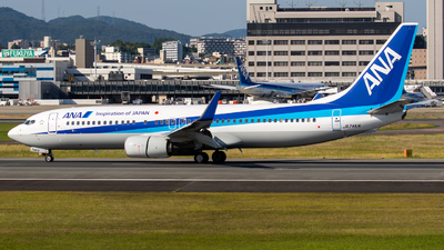JA74AN - Boeing 737-881 - All Nippon Airways (ANA)