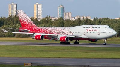 A picture of EIXLJ - Boeing 747446 - Rossiya - © KomradAlexey