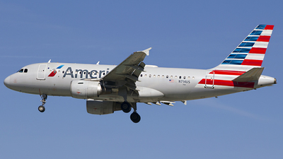 A picture of N714US - Airbus A319112 - American Airlines - © Chasen Richardson