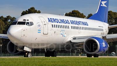 LV-CCR - Boeing 737-73V - Aerolíneas Argentinas