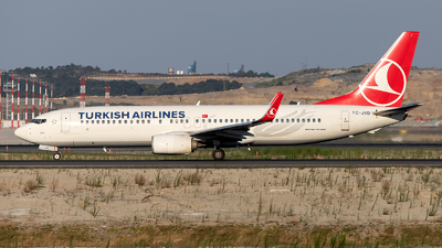 TC-JVD - Boeing 737-8F2 - Turkish Airlines