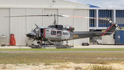 A picture of VHSMI - Bell 214B1 - [28011] - © Brenden
