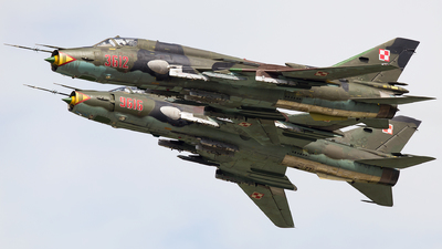 3612 - Sukhoi Su-22M4 Fitter K - Poland - Air Force