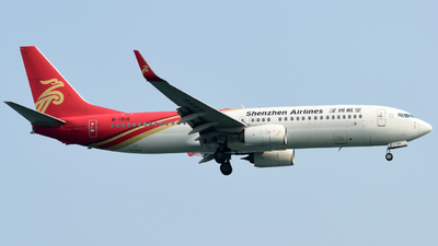 A picture of B1516 - Boeing 73787L - Shenzhen Airlines - © Huang Xinyi