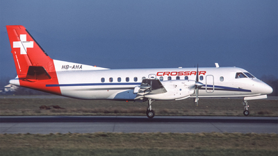 HB-AHA - Saab 340A - Crossair