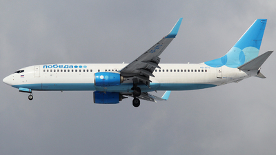 A picture of VQBTC - Boeing 7378MA - Pobeda - © Mikhail Tkachuk