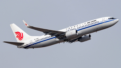 B-7182 - Boeing 737-89L - Air China