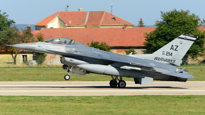 86-0214 - General Dynamics F-16C Fighting Falcon - United States - US Air Force (USAF)