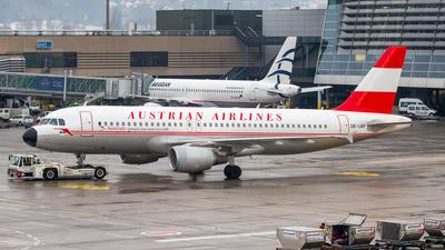 OE-LBP - Airbus A320-214 - Austrian Airlines