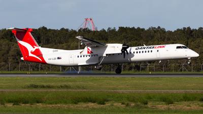 A picture of VHLQQ - De Havilland Canada Dash 8400 - Qantas - © Brandon Giacomin