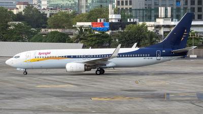 VT-SYR - Boeing 737-8AL - SpiceJet