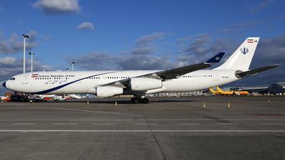 EP-AJA - Airbus A340-313X - Iran - Government