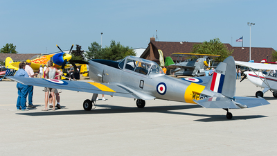 N894WP - De Havilland Canada DHC-1 Chipmunk - Private