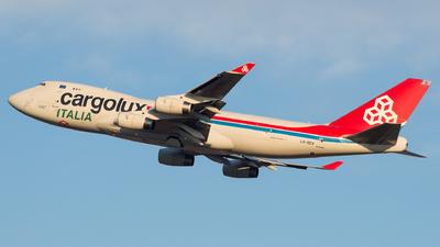 LX-OCV - Boeing 747-4R7F(SCD) - Cargolux Italia Airlines