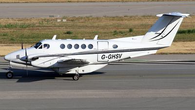 G-GHSV - Beechcraft 200 Super King Air - Atlantic Bridge Aviation
