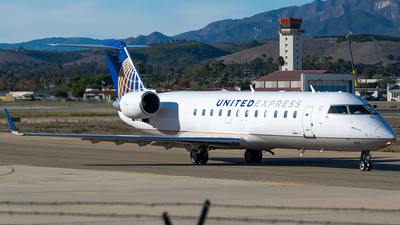 A picture of N435SW - Bombardier CRJ200ER - United Airlines - © Ricky Teteris