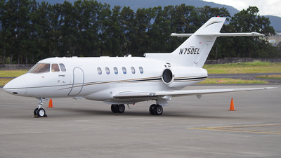 N750EL - Raytheon Hawker 750 - Private