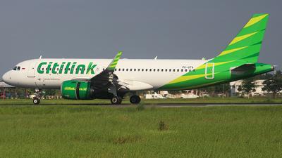 PK-GTA - Airbus A320-251N - Citilink