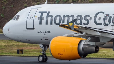OO-TCW - Airbus A320-214 - Thomas Cook Airlines Belgium