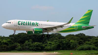 PK-GQN - Airbus A320-214 - Citilink