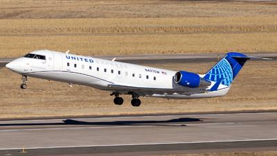 A picture of N437SW - Mitsubishi CRJ200LR - United Airlines - © HA-KLS