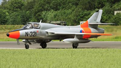 G-BWGL - Hawker Hunter T.8C - Dutch Hawker Hunter Foundation