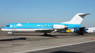 5Y-JWF - Fokker 70 - Jetways Airlines