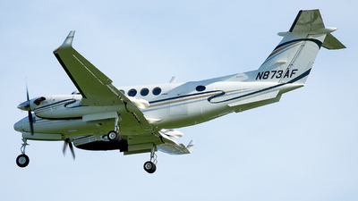 N873AF - Beechcraft B200 Super King Air - Sun Air