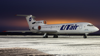 RA-42555 - Yakovlev Yak-42D - UTair Aviation