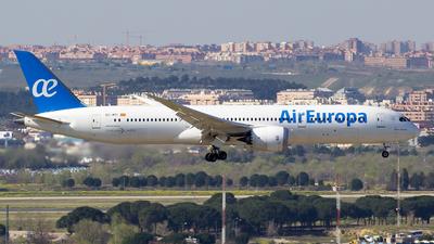 A picture of ECMTI - Boeing 7879 Dreamliner - Air Europa - © Alejandro Gutierrez Martin