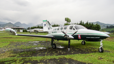 HK-4825 - Cessna 414 - Colcharter
