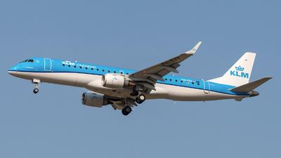 PH-EXV - Embraer 190-100STD - KLM Cityhopper