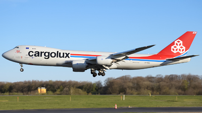 A picture of LXVCG - Boeing 7478R7(F) - Cargolux - © Tom Mousel