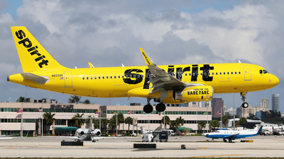N655NK - Airbus A320-232 - Spirit Airlines
