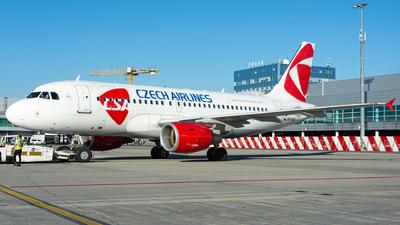 OK-REQ - Airbus A319-112 - CSA Czech Airlines