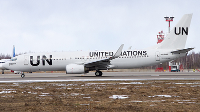 VP-BOW - Boeing 737-8Q8 - United Nations (UN)