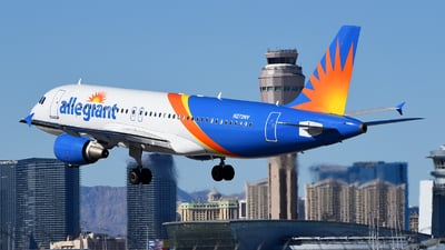 A picture of N272NV - Airbus A320214 - Allegiant Air - © Rocky Wang
