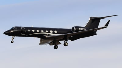 N1777U - Gulfstream G550 - Private