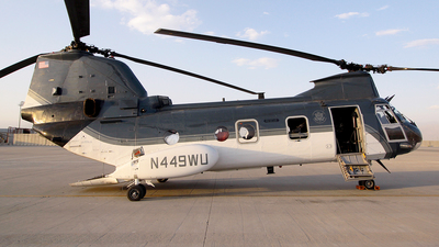 N449WU - Boeing Vertol CH-46E Sea Knight - United States - Department of State