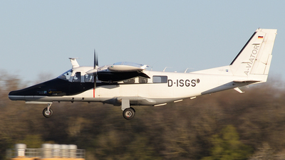 D-ISGS - Partenavia AP.68TP-600 Viator - SVEGE Flight Inspection