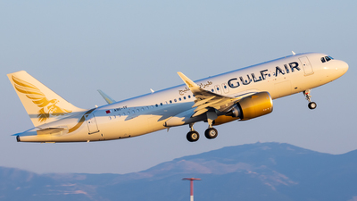 A9C-TF - Airbus A320-251N - Gulf Air