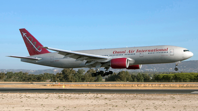 N819AX - Boeing 777-2U8(ER) - Omni Air International (OAI)