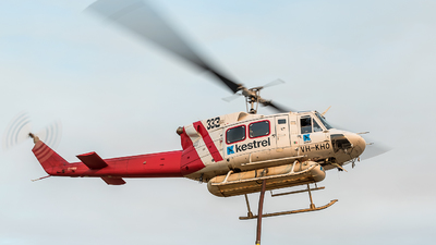 VH-KHO - Bell 212 - Kestrel Aviation